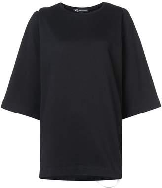 Y-3 applique stripe detail T-shirt