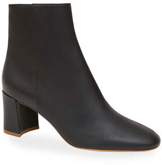 Mansur Gavriel Smooth Leather Ankle Boots