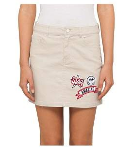 GUESS Patched Mini Skirt