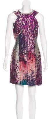 J. Mendel Jacquard Mini Dress