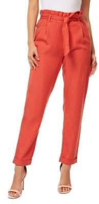 Dex Self-Tie Belted Pants