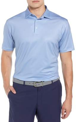 Peter Millar Pointer Print Microdot Performance Polo