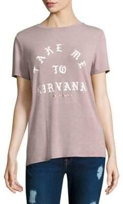 Spiritual Gangster Nirvana Print Tee