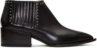 Givenchy Black Studded Chelsea Boots $1,150 thestylecure.com
