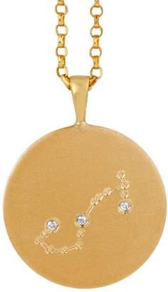 Harry Rocks - Gold Scorpio Constellation & Diamonds Necklace