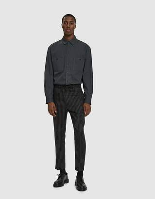 Cmmn Swdn Stan Drawstring Trouser in Black