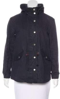 Steven Alan Zip-Up Short Coat