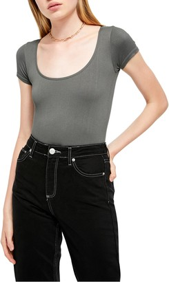 BDG Urban Outfitters Ella Ribbed Bodysuit