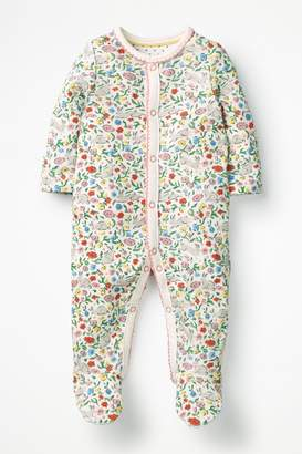 Boden Girls Multi Pretty Printed Sleepsuit - Natural