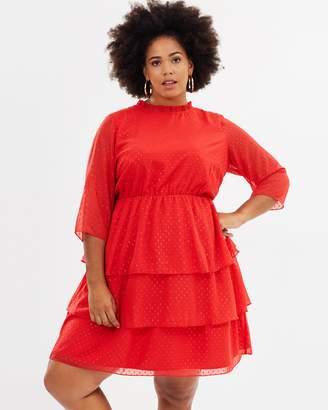 Junarose Sparkle Woven Dress
