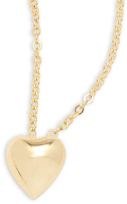 Saks Fifth Avenue 14K Gold Puffed Heart Necklace