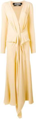 Jacquemus knot front dress