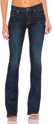 Hudson Jeans Love Mid Rise Bootcut $190 thestylecure.com