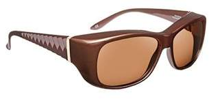 Solar Shield Fashion Oval Fits Over Sunglasses