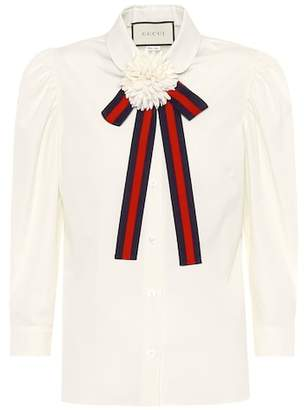 Gucci Cotton shirt with bow
