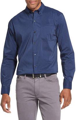 Van Heusen Slim Flex Non-Iron Stretch Long-Sleeve Button-Down Shirt