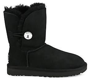 UGG Women's Classic Bailey Sheepskin Short Button Boots