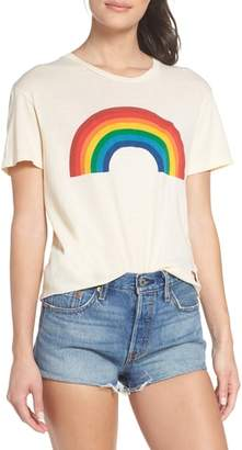 Aviator Nation Big Rainbow Boyfriend Tee