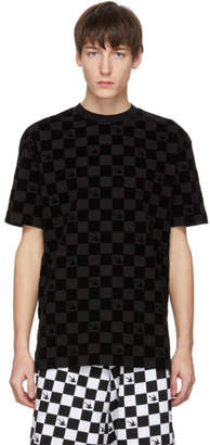 McQ Black Checkered T-Shirt
