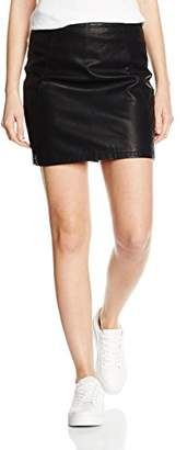 Dorothy Perkins Women's Pu Mini Regular Skirts