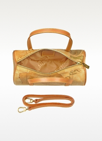 Alviero Martini 1a Prima Classe - Geo Printed Mini Barrel Bag