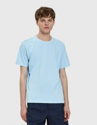 Our Legacy New Box Tee in Light Blue Army Jersey