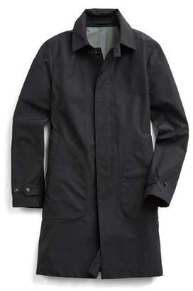 Todd Snyder Double-face Trench Coat in Black