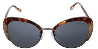 Brian Atwood Tinted Oversize Sunglasses