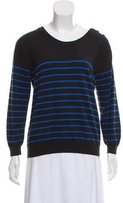 MM6 MAISON MARGIELA Striped Long Sleeve Sweater
