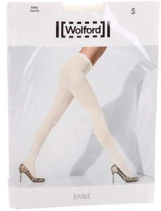 Wolford Emile Open Knit Tights w/ Tags