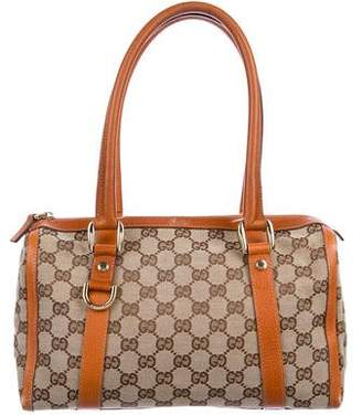 23025a906df0 Pre-Owned at TheRealReal · Gucci GG Canvas Mini Boston Bag