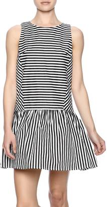 Do & Be Stripe Scoop Dress $95 thestylecure.com
