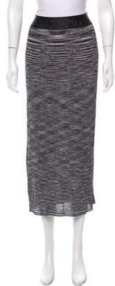 Ellery Knit Midi Skirt