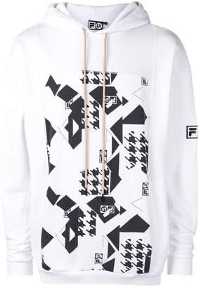 Fila Liam Hodges LIAM HODGES X front print hoodie