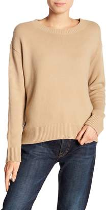 Vince Side Lace Up Cashmere Pullover