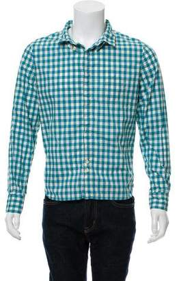 Yigal Azrouel Gingham Button-Up Shirt