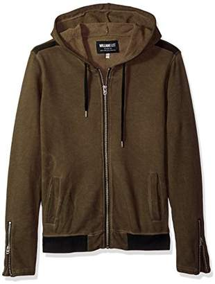 William Rast Men's Iggy Zip Hoody