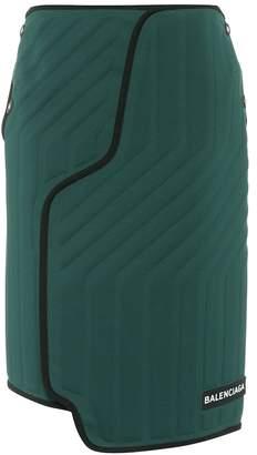 Balenciaga Scuba skirt