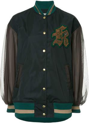 Kolor sheer sleeved bomber jacket