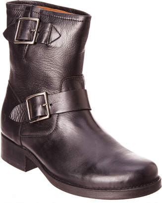 Frye Women's Vicky Leather Engineer Boot