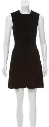 Torn By Ronny Kobo Velvet Fit & Flare Dress