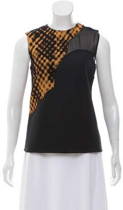 3.1 Phillip Lim Sleeveless Embroidered Top
