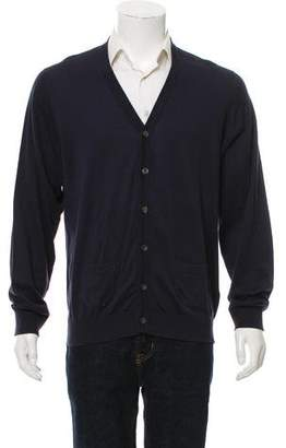 Burberry Button-Up Cardigan