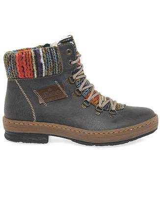 Rieker Emerald Womens Hiker Ankle Boots