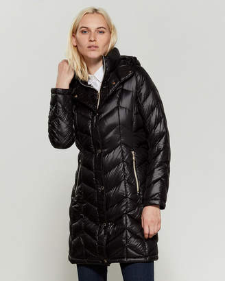 Calvin Klein Packable Long Down Coat
