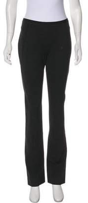 Donna Karan Mid-Rise Straight-Leg Pants w/ Tags