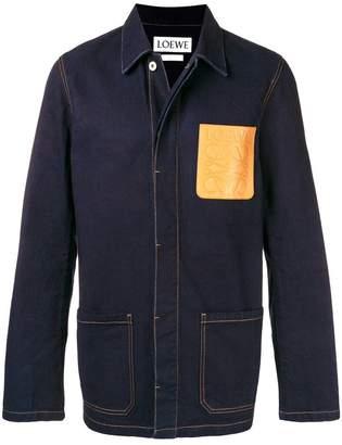 Loewe denim workwear jacket