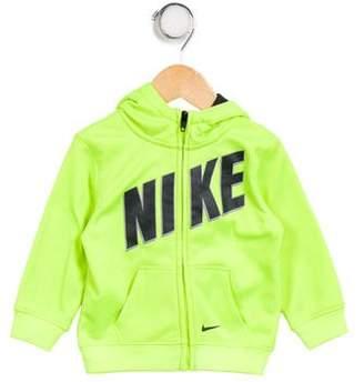 Nike Boys' Hooded Zip- Up Jacket