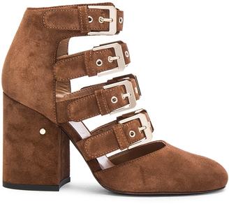 Laurence Dacade Suede Maja Heels $1,090 thestylecure.com