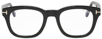 Tom Ford Black Blue Block Soft Square Glasses